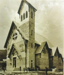 nuova chiesa di Stoccareddo 1923...